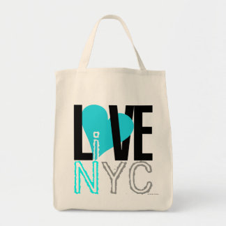 Love NYC Live In NYC Bag Blue