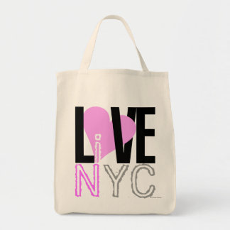 Love NYC Live In NYC Bag Pink