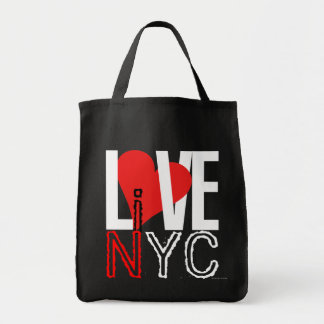 Love NYC Live In NYC Bag Red Black White