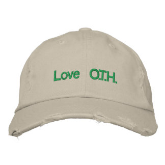 Love O.T.H. Embroidered Hats