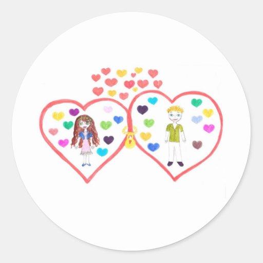 love oasis sticker