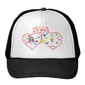 love oasis trucker hat