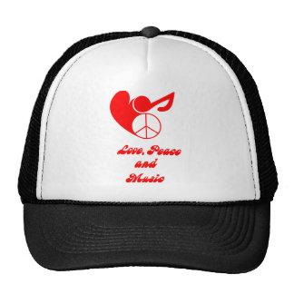 love OF 80s ski RTS Trucker Hat