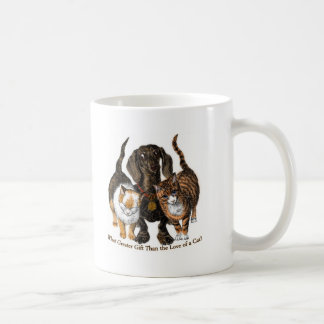 love of a cat coffee mug
