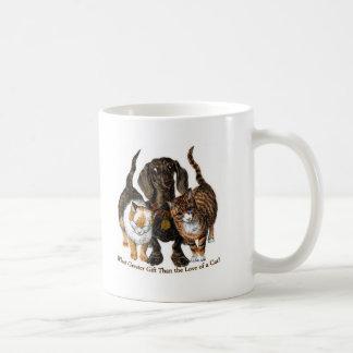 love of a cat coffee mug