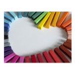 Love of Color Postcard
