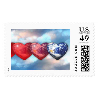 Love of Earth by Gregory Gallo Postage