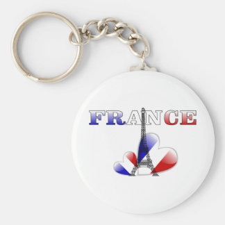 Love of France Keychain
