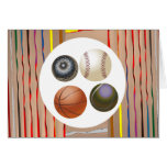 Love of Games Multi Image Art Collection Greeting Cards