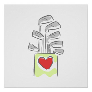 Love of Golf Poster
