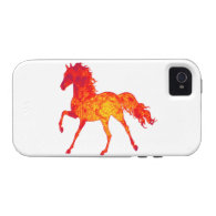 LOVE OF HORSES iPhone 4/4S CASES