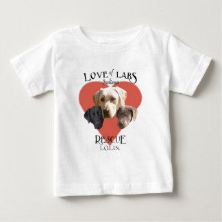 Love of Labs Baby T-Shirt