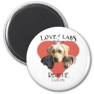 Love of Labs Magnet