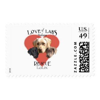 Love of Labs Postage