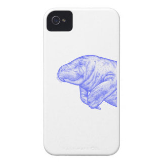 LOVE OF MANATEE iPhone 4 Case-Mate CASE