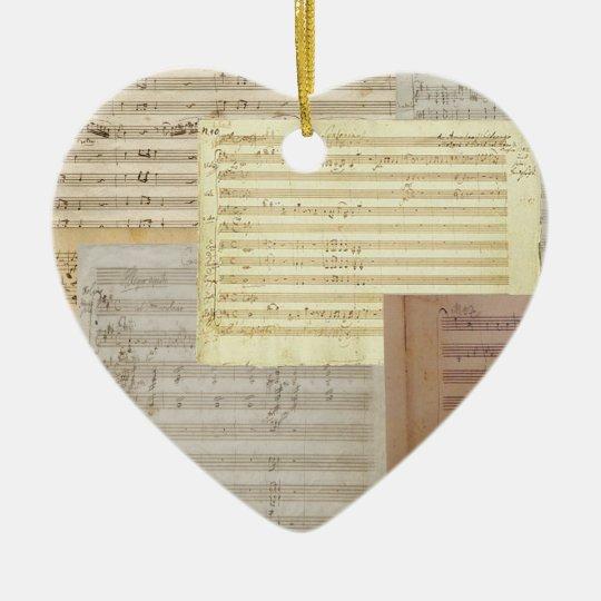 Love of Mozart Ornament Pendant