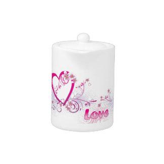 Love of my heart teapot