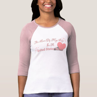 Love Of My Life Is A Soldier T-Shirt