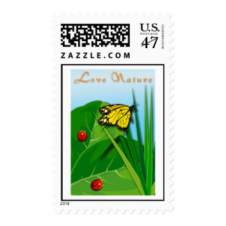 Love of Nature Postage Stamp