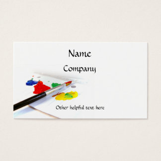 Love Of Painting Business Card
