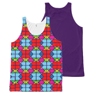 love of patterns All-Over print tank top