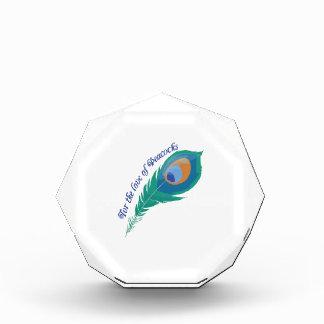 Love Of Peacocks Acrylic Award