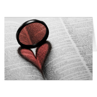 Love of Reading Card