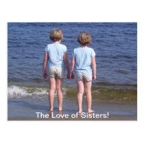 Love of Sisters Postcard