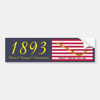 Love of the CPO Mess and the Navy First Jack Bumper Sticker