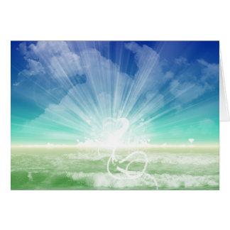 Love of the Ocean Greeting Card