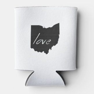 Love Ohio Can Cooler
