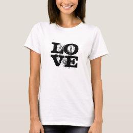 LOVE Oilfield (black lettering) T-Shirt