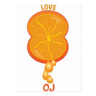 Love OJ Postcard