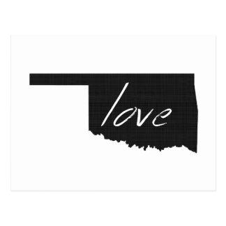 Love Oklahoma Postcard