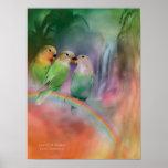 Love On A Rainbow Art Poster/Print