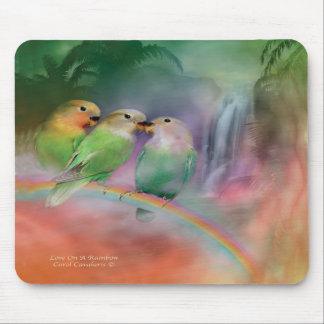 Love On A Rainbow Mousepad