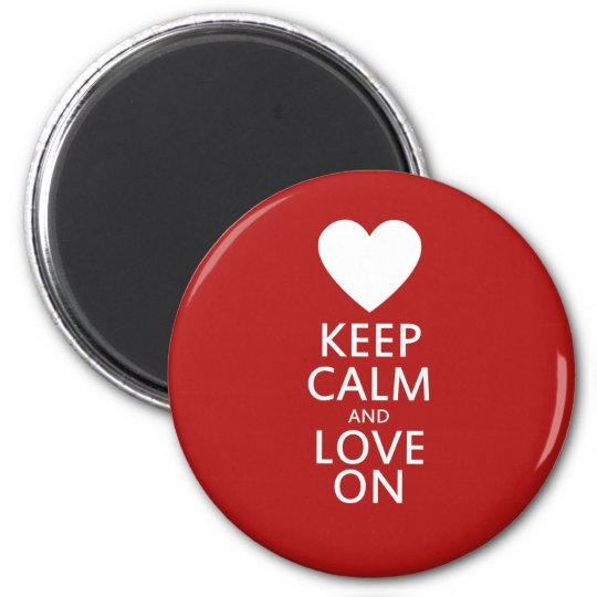 Love on for Valentines day Magnet