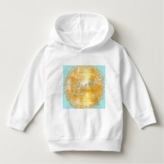 Love on glitter,gold,silver,mint,metallic,modern,r hoodie