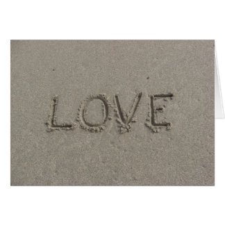 love on parsons beach card