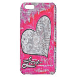 Love, on Recycled Magazines Case For iPhone 5C