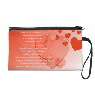 Love on Solid Ground Wristlet Clutches