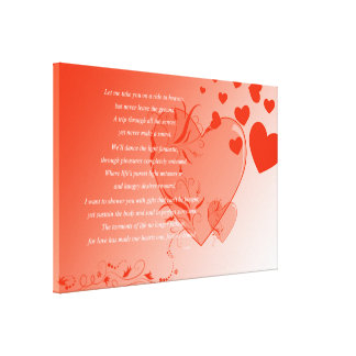 Love on Solid Ground Stretched Canvas Print