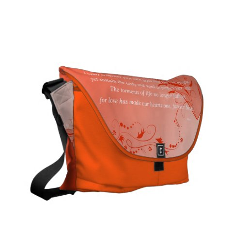 Love on Solid Ground Courier Bags