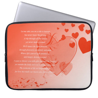 Love on Solid Ground Laptop Sleeves