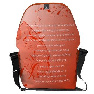 Love on Solid Ground Messenger Bag