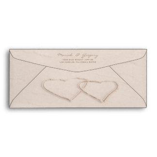 Love on the Beach Envelopes