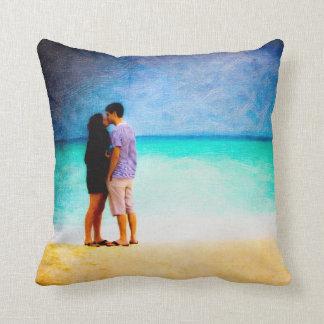 Love On The Beach - Playa del Carmen Pillows