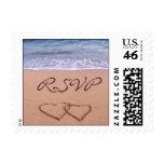 Love on the beach - RSVP Postage