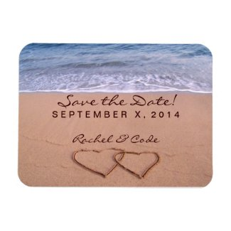 Love on the beach save the date