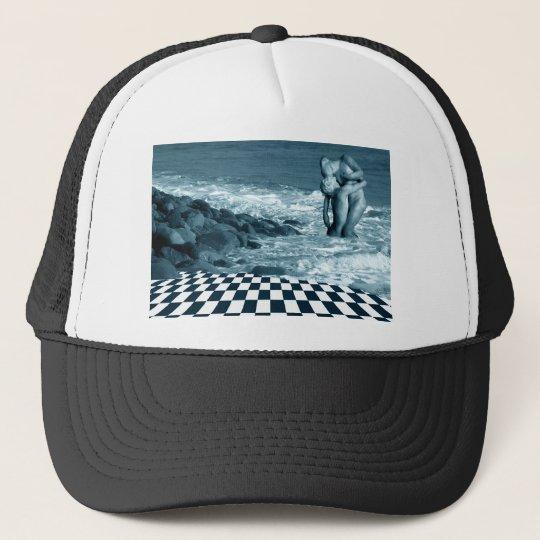 Love on the Beach Trucker Hat